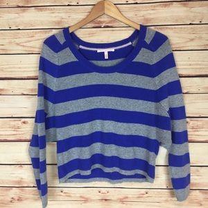 Victoria's Secret Striped Batwing Sweater Small